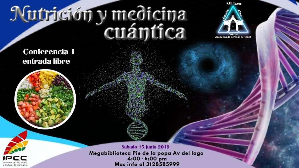 Conferencia nutrición y medicina cuántica