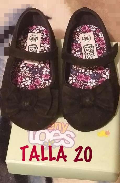 Zapatos de Bebe Talla 20