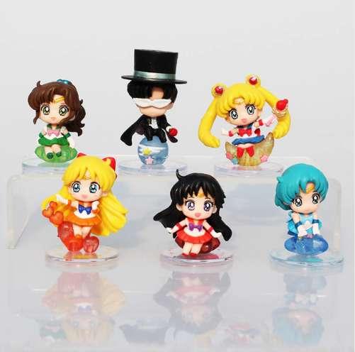 Set Sailor Moon Figuras Originales