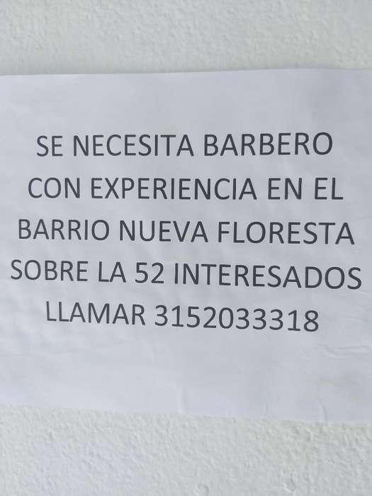 Se Busca Barbero con Experiencia en Cali