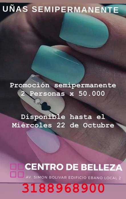 Semipermanente Promocion Lunes Y Jueves