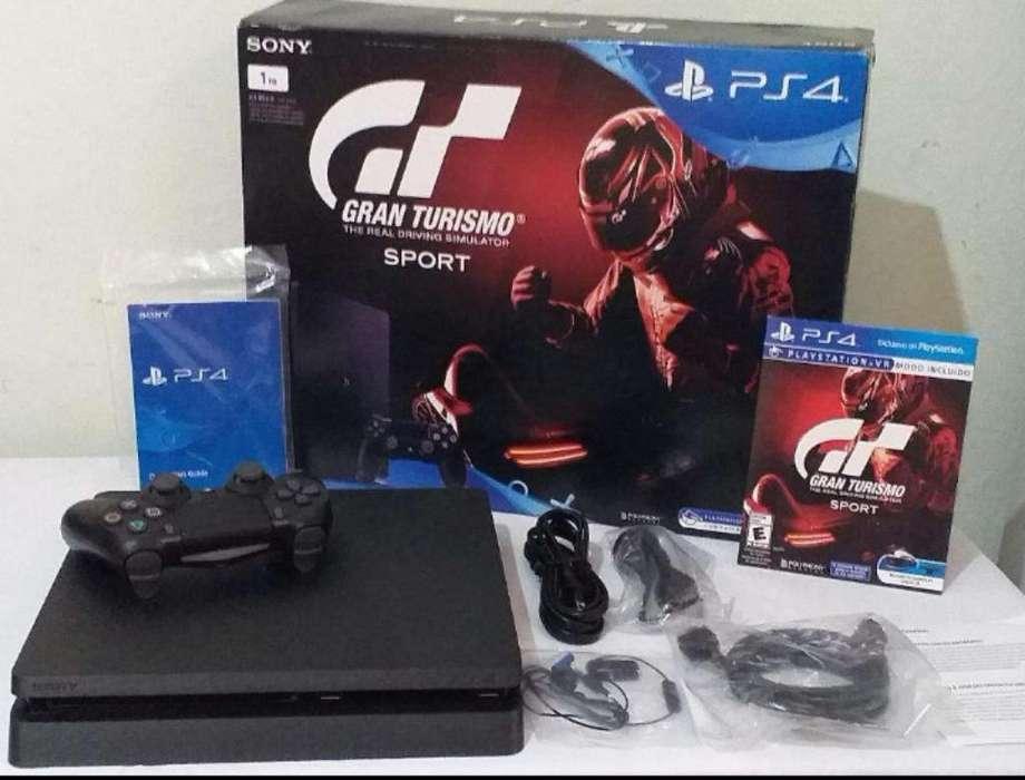 Liquido Playstation 4 Slim 1tb Nueva