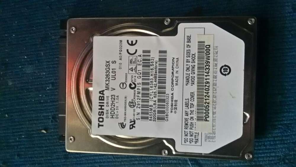 Vendo Disco Duro 320gb