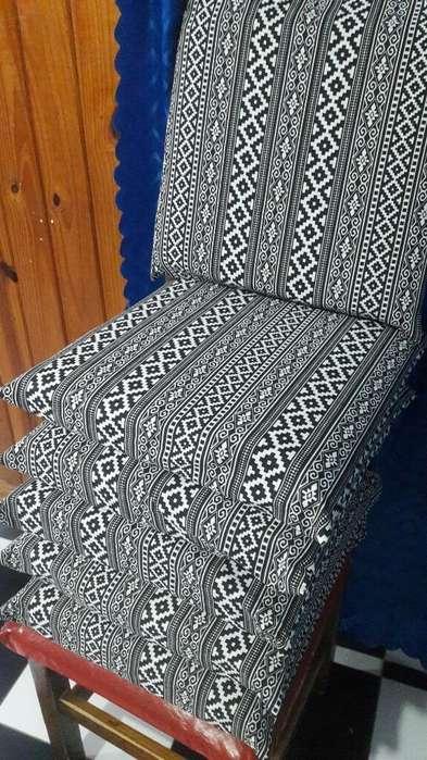 Almohadones para <strong>silla</strong>s Y Cuchitas