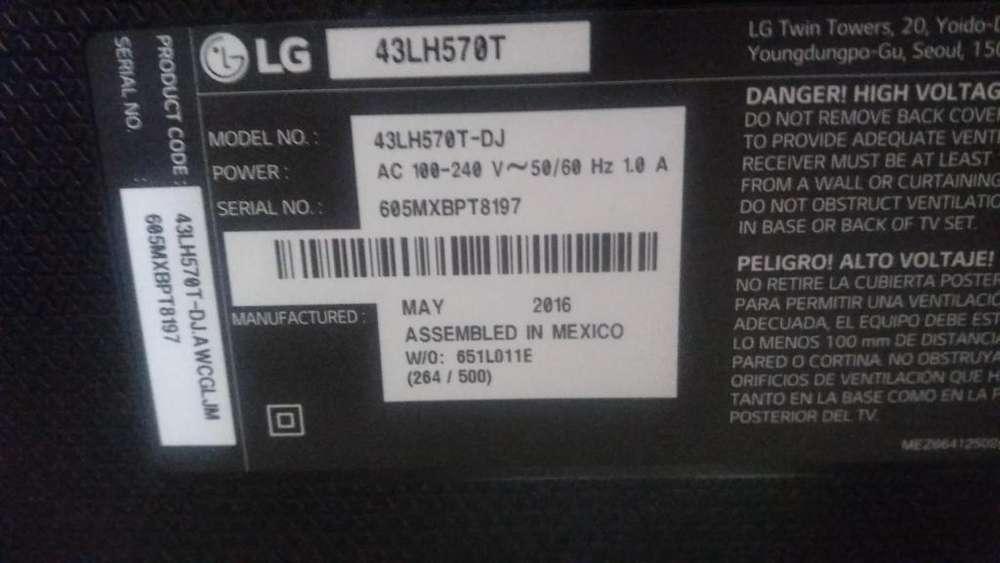 LG43LH570T TARGETAS