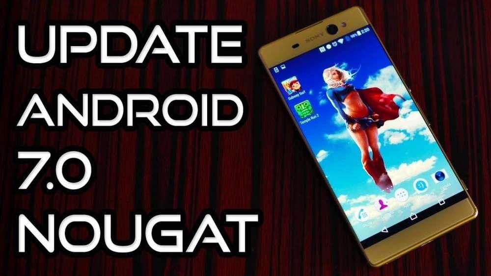 Actualizacion Android Nougat 7.0 Oficial Sony Xa Ultra,sony Xa