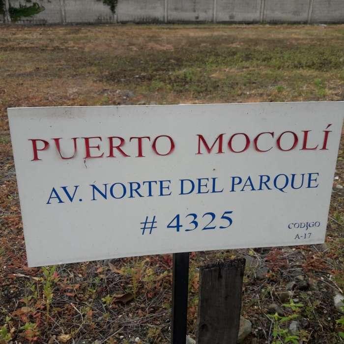 VENDO TERRENO EN ISLA MOCOLI DE OPORTUNIDAD