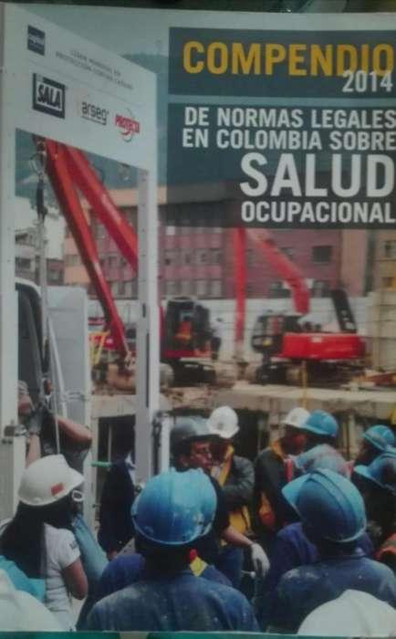 COMPENDIO 2014 DE NORMAS LEGALES EN COLOMBIA SOBRE SALUD OCUPACIONAAL