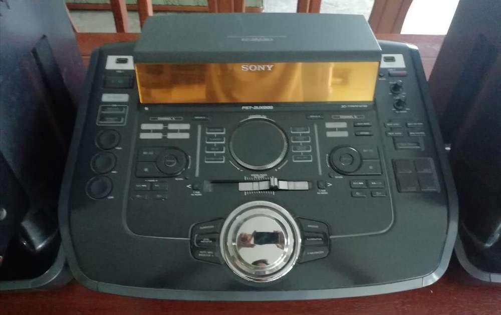 Equipo de Sonido Sony Zux999