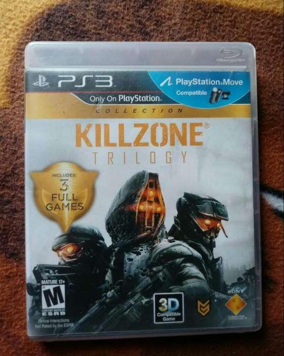 Ps3 Juego Play 3 Killzone 1,2 Y 3