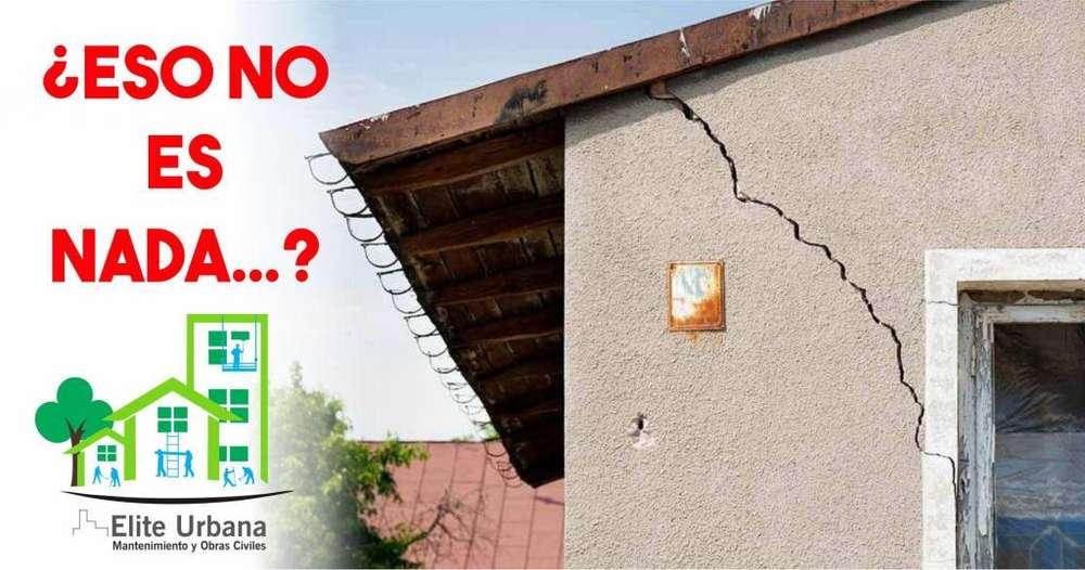 No le des más espera a los pequeños daños de tu casa