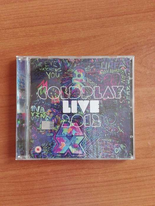 Cd Y Dvd Coldplay Mylo Xyloto 2012
