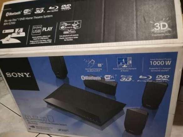 teatro en casa sony bravia bluray 3d smart tv wifi 1000w bluetooth