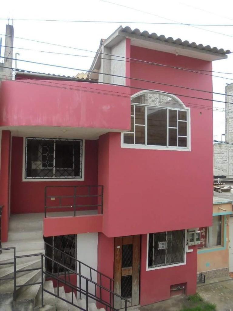Venta Casa 3 Pisos Girasoles 1 Sur Quito