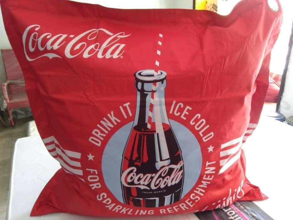 Puff-cojin Coca Cola Alta Calidad