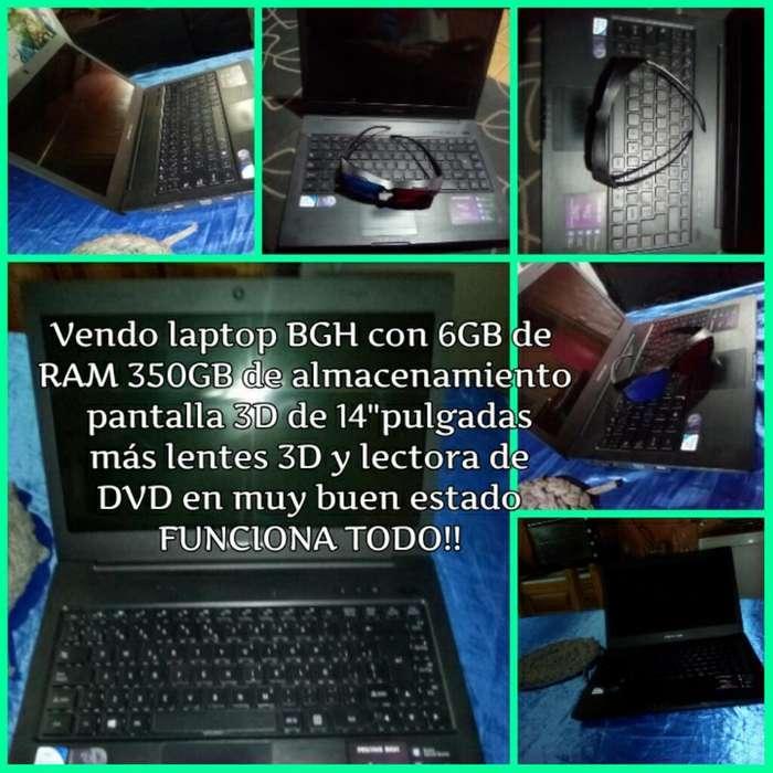 Vendo O Permuto Laptop Bgh