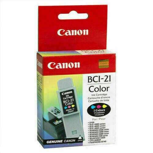 Cartucho Impresora Canon Bci-21 Nuevo Original