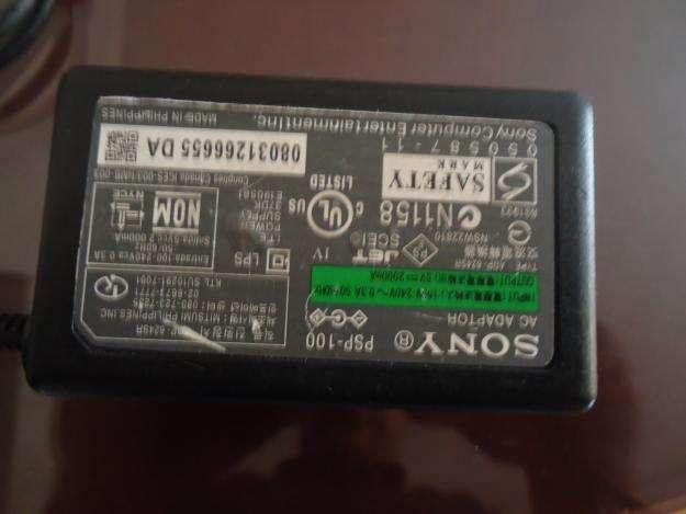 VENDO O CAMBIO CARGADOR SONY PARA PSP 1001 EN BUEN ESTADO PROPONGAN BARATO