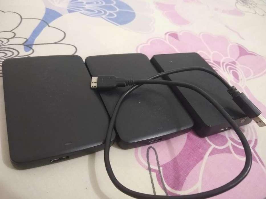 Disco Duro Portable 1 Tb Toshiba Usado
