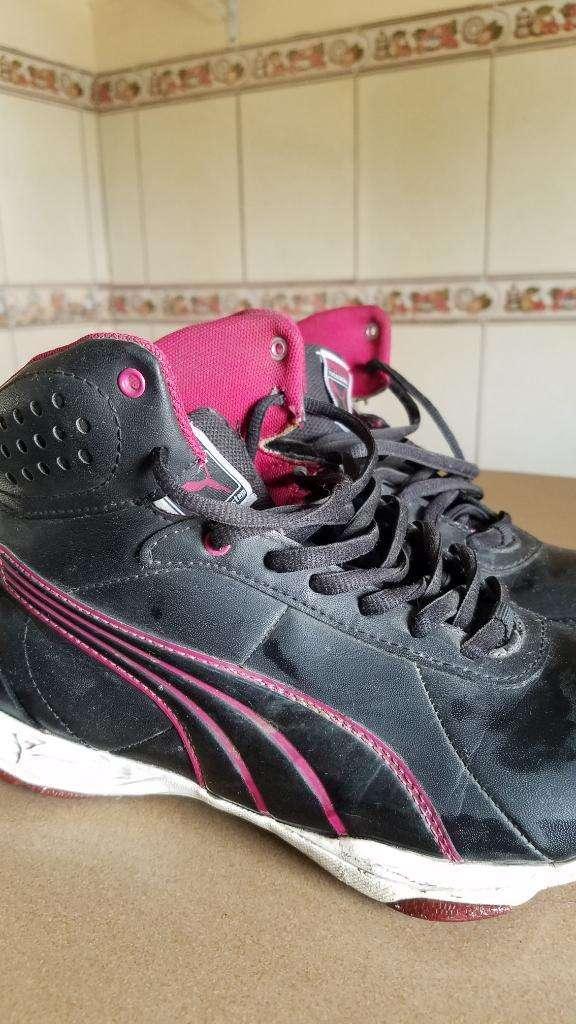 zapatos pumas mujer