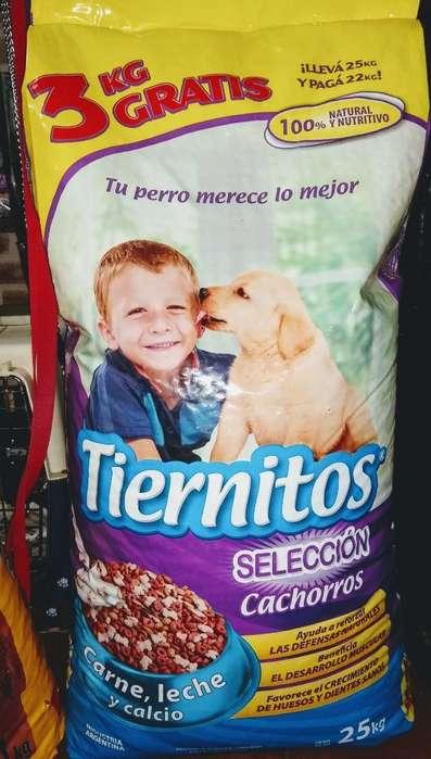 Tiernitos Cachorros 22 Kg