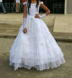 Hermoso Vestido para Primera Comunión