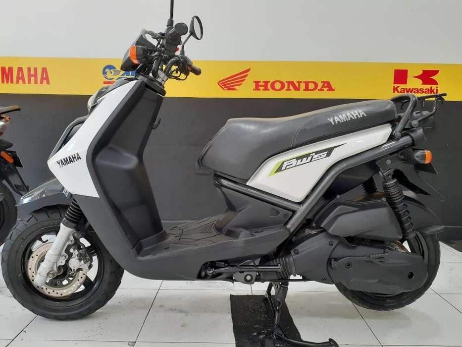 Yamaha Bws 125 Blanca Modelo 2013