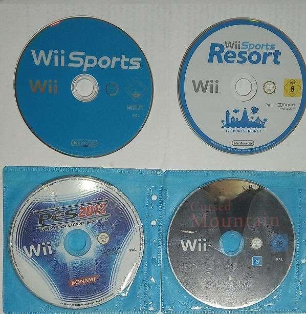 Juegos de Nintendo Wii originales PAL todo por 30
