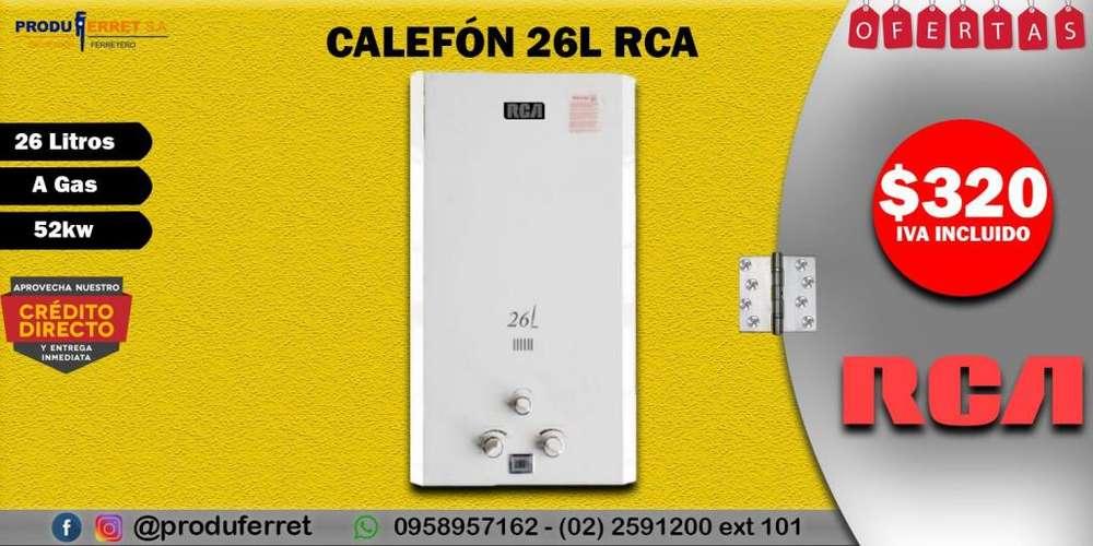 Calefón 26 Litros RCA