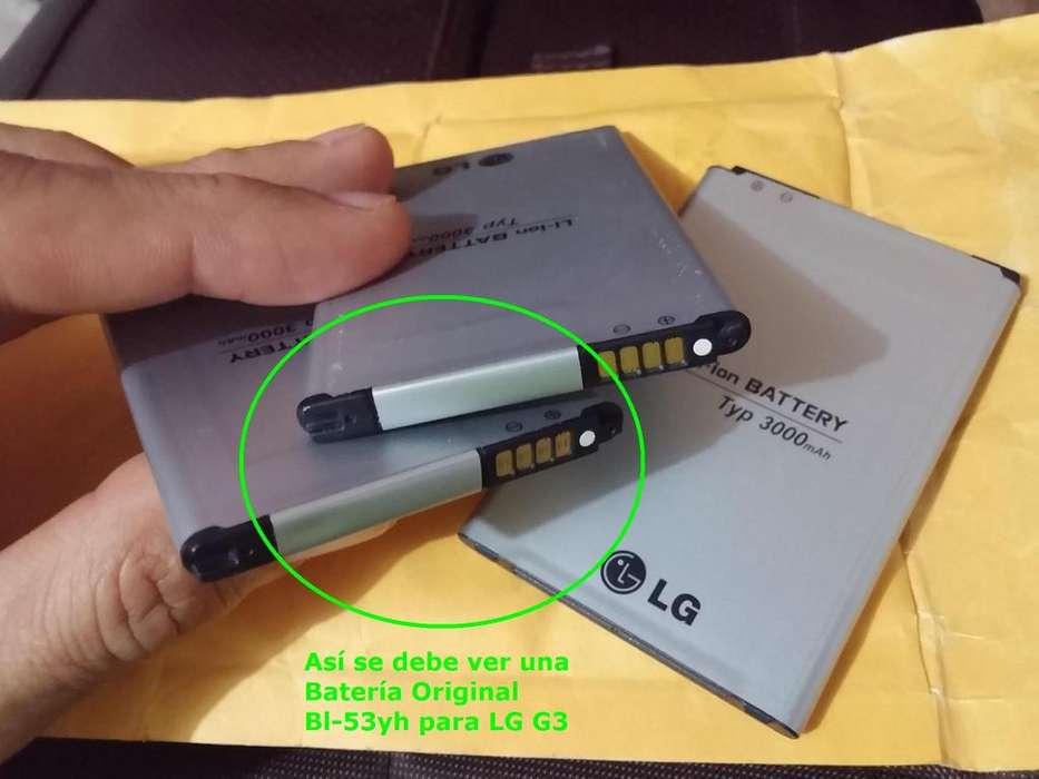 Bateria Lg G3 Original Bl53yh D850 D851 D855 D855p Entrega Inmediata