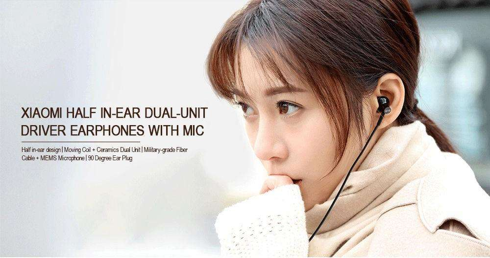 Audifonos Xiaomi Dynamic Dual Unit Drive Ceramic HiRes