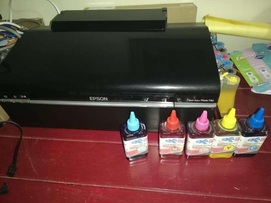 Impresora T50 Y Kit de Sublimacion