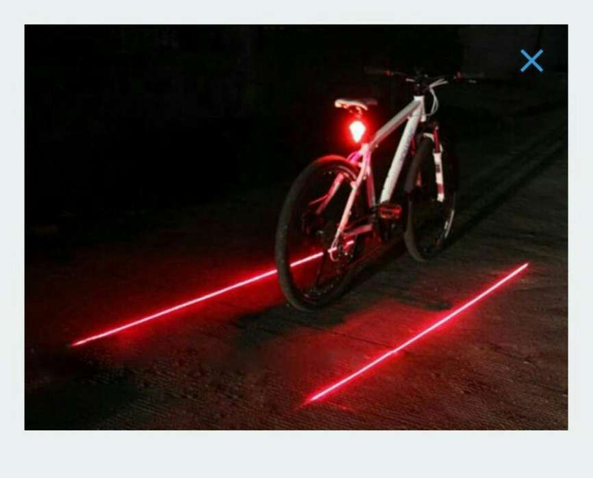 Led Y Laser para Bicicletas