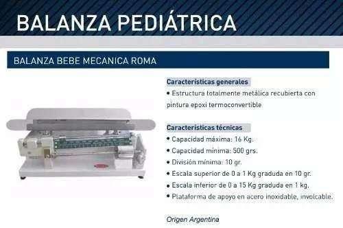 Balanza Mecánica Pediatrica Bebe Roma
