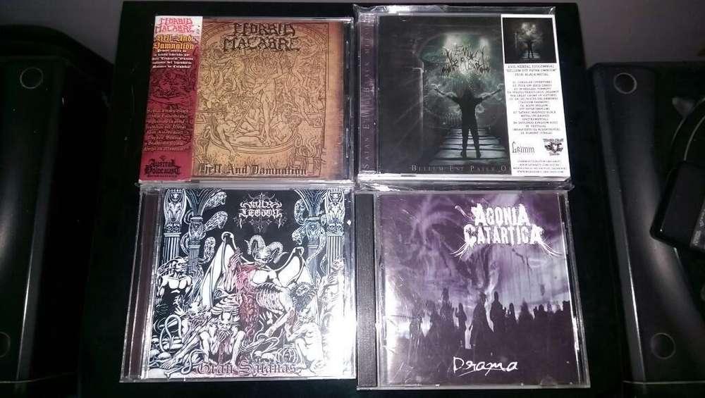 Cds Black Metal Nacional