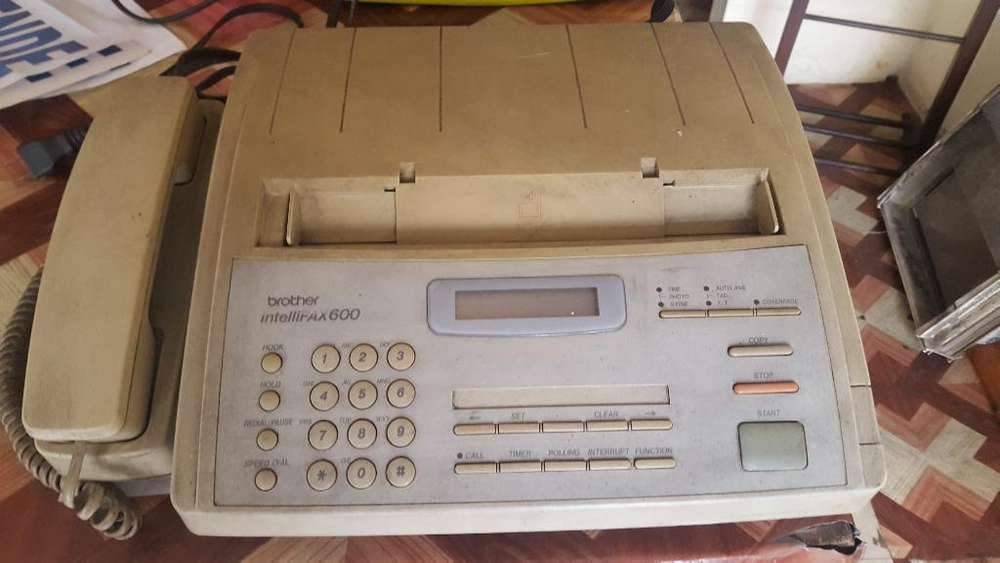 <strong>fax</strong> Y Telefono Marca Brother