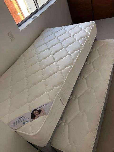 Cama 100x 190 con base cama adicional cama nido