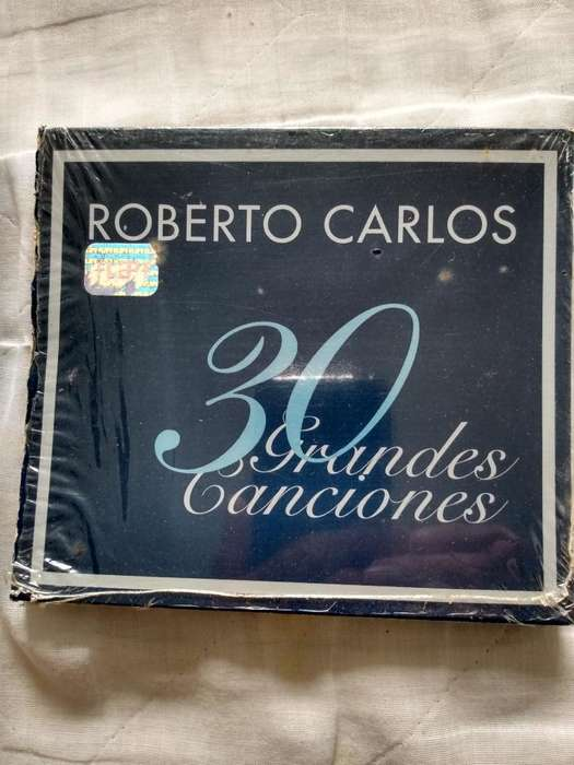 Cd Doble de Roberto Carlos, Original.