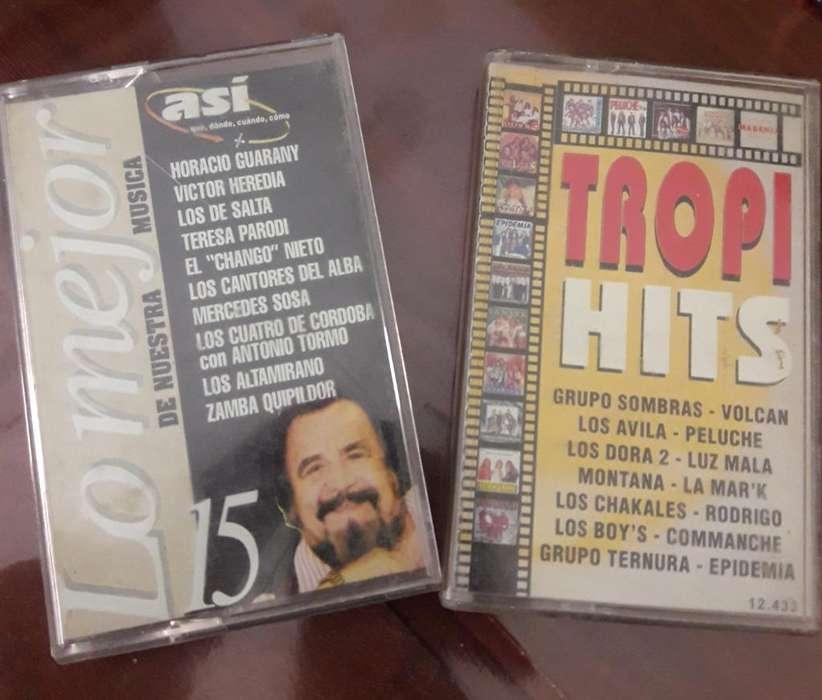 Vendo Lote de Cassettes Originales