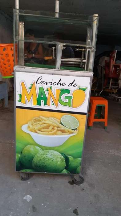 Vendo Carro para Venta de Mango Viche