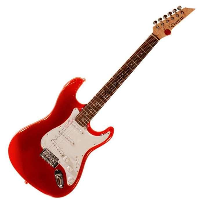 Guitarra Chateau C08ST1 electrica Stratocaster Azul