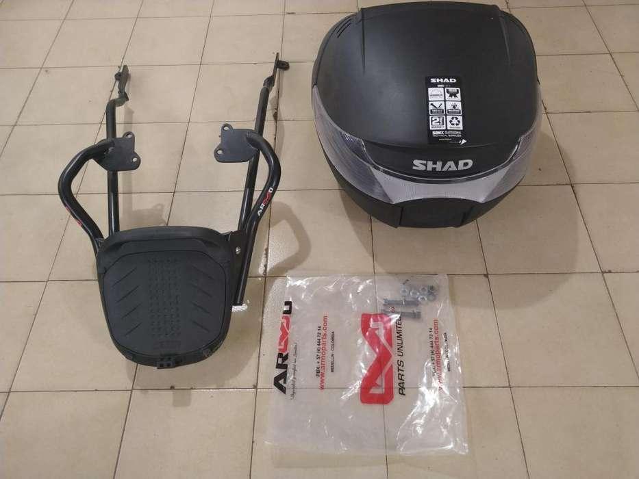 Portamaletero y Baul Para Honda Twister Cb250