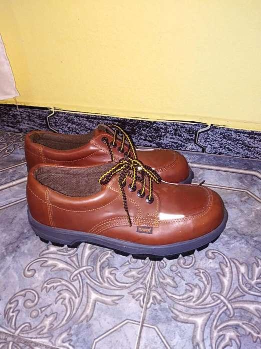 Zapatos Seguridad Punta Acero Nuevos T41