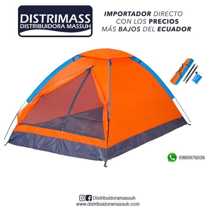 <strong>carpa</strong> CAMPING IMPERMEABLE 4 PERSONAS