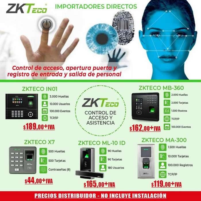 Reloj Biometrico/Control de acceso/In01.mb360.ma300/ acceso y asistencia/quito-guayaquil