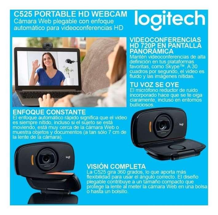 Cámara Web Logitech C525 Video Hd 720