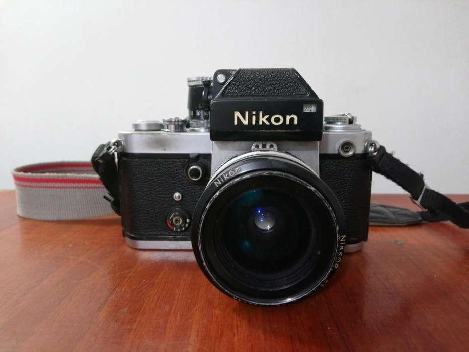 cámara nikon f2 photomic leyenda