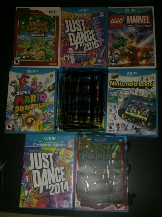 Peliculas Wii U Paquete de 8