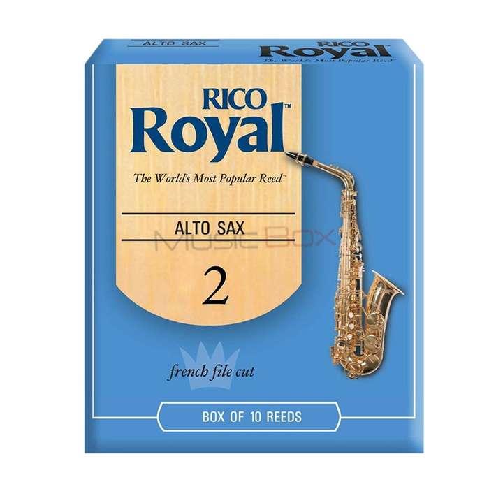 Combo Rico Royal BL Cana Saxofon Alto Eb 2