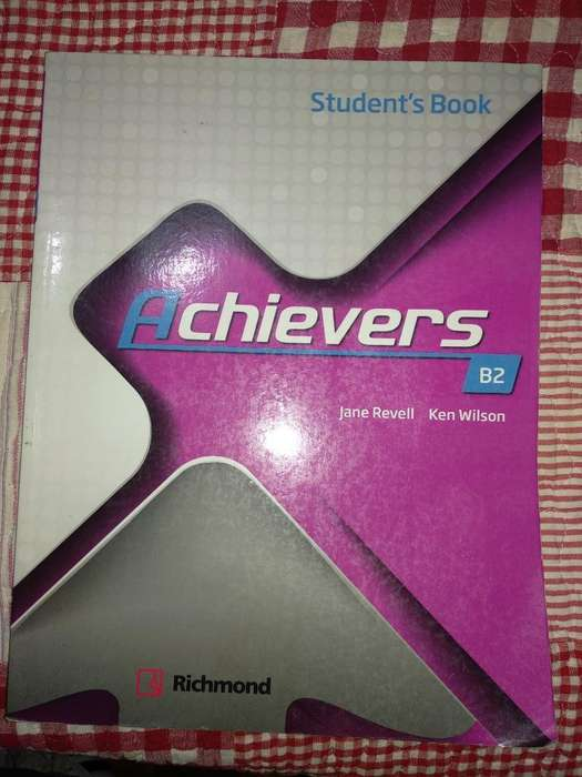 Libro Achievers Students Book B2